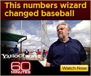 View the 60 MINUTES segment on Bill James