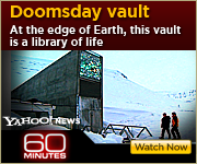 View the 60 MINUTES report on the Doomsday Vault