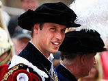 Prince William receives Order of the Garter