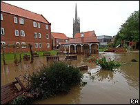 Flooding in Louth