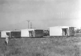 Portables at Chadstone High School in 1962