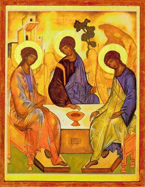 Rublevs Icon of The Trinity