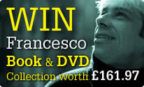 Win Francesco Book and DVD collection worth £161.97