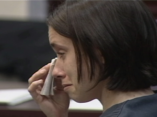 Casey Anthony cries in court (7/22)