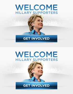 Welcome Hillary Supporters
