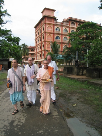 setting off to the ganges: