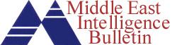 Middle East Intelligence Bulletin