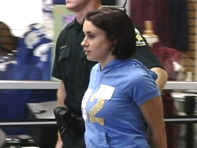 Casey Anthony is taken to jail