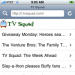 TV Squad is now iPhone-friendly