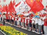 Torch Relay in Qingdao