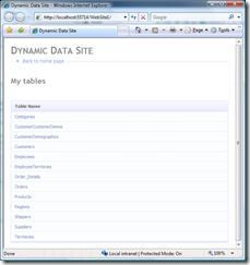 DynamicData - Main Menu