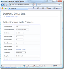 DynamicData - Product Details