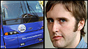 Jon Kelly and the BBC bus