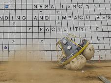 Orion Crew Vehicle airbag drop test