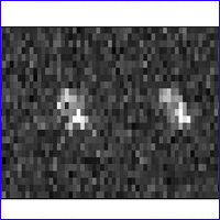 radar image of asteroid 2007 TU24