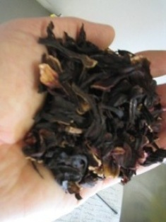 fragrant dried hibiscus flowers: