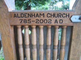 Aldenham church:
