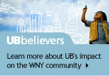 UB Believers: Learn more about UB's impact on the WNY community