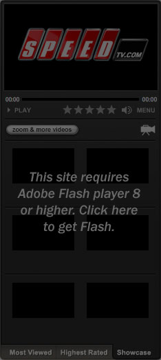 Get Flash to View SPEEDtv.com Video Content