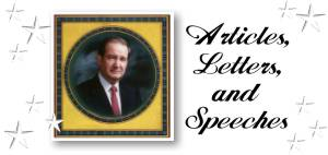 Articles, Letters, and Great Speeches by Patrick J. Buchanan