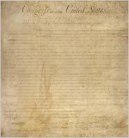 Una copia original de la Constitución de EE.UU. se conserva en el Archivo Nacional, en Washington, D.C. (Archivo Nacional)