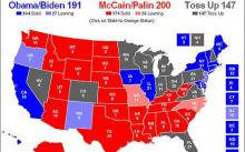 US election: RealClearPolitics: Create your own electoral map