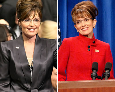 Sarah Palin reacts to Tina Fey Impersonation