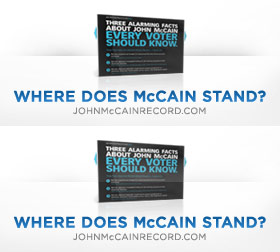 Where does John McCain stand on the Economy?