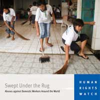 HRW Report Cover. © 2006 Human Rights Watch