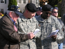 Picatinny officials, Multi-National Force - Iraq leader participate in local Veteran's Day observance