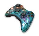 Xbox 360 Limited Edition Halo 3 Wireless Controller Brute
