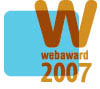 2007 Web Marketing Association Award