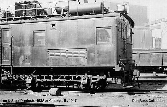 LIRR #403-A at Iron & Steel