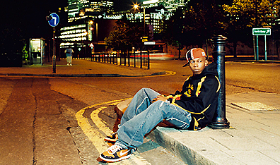 Dizzee Rascal. Photo Dean Chalkley. Courtesy Beggars Group Canada.