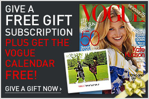 Subscribe to Vogue today!