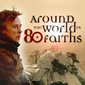 Around the world in 80 faiths graphic