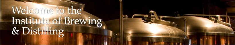 Welcome to the Institute of Brewing & Distilling