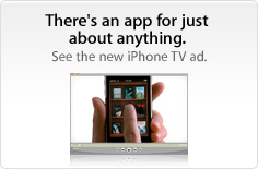 There's an app for just about anything. See the new TV ads.