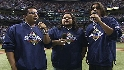 Los Lonely Boys sing the anthem