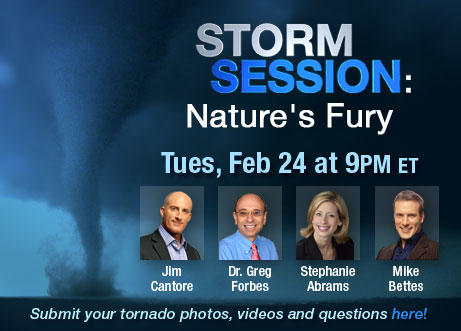 Have a question about tornadoes?  Ask the Experts.