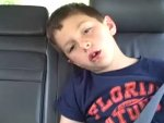 funny video - Kid Stoned On Laughing Gas