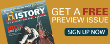 Subscribe to History Magazine!