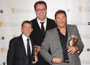 Russel T Davies, comedian and Doctor Who writer presented Special Award to The Chuckle Brothers