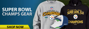 Super Bowl XLIII Championship gear