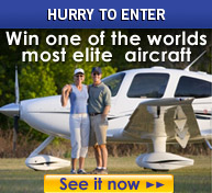 Hurry to enter - win one of the world's most elite aircraft