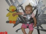 funny picture gallery - duct, duct, TAPE!