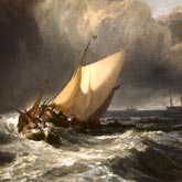 JMW Turner, Dutch Boats in a Gale