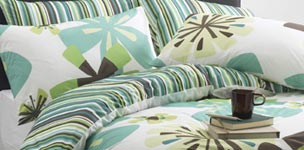 Summer bedrooms with Terrys Fabrics