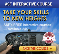 Free online air safety courses from the Air Safety Foundation