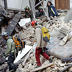 Italian earthquake (Pic:Getty)